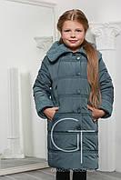 Детская зимняя куртка  X-Woyz! DT-8255-12 зеленый