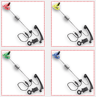 Bite Indicator, S01, green (Свингер с магнитными шариками, световая индикация-LED - зеленый)