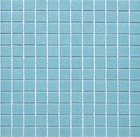 Мозаика стеклянная  А61 светло-голубая