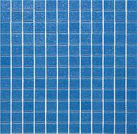 Мозаика стеклянная  А63  голубая