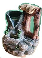 Фонтан декоративный Навес над источником 1 струя бочка + насос и шар  интерьерный