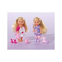 5730515 Кукла Еви Спокойной ночи с тапочками