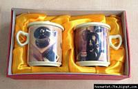 Набор чашек (2 шт) С-009 - Уценка