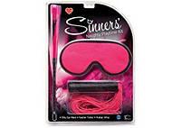 Секс набор интим игрушек Topco Sales Набор БДСМ аксессуаров Sinners' Naughty Playtime Kit | Секс шоп - интим магазин Импери.