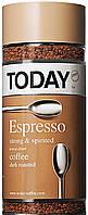 Кофе Today Espresso растворимый, 95 г. с/б