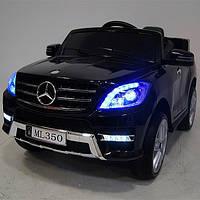 Детский электромобиль Mercedes ML 350 Лицензионный, Кожаное сиденье, Резиновые ЕВА колёса, Амортизаторы
