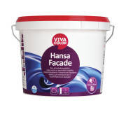 Краска фасадная акрилатная с силиконовыми добавками Hansa Facade (Vivacolor, Виваколор) 9 л С