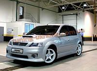 Бампер передний на Dacia Logan 2004