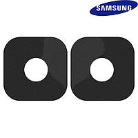 Стекло камеры для Samsung G360M/DS Galaxy Core Prime 4G LTE, черное, оригинал