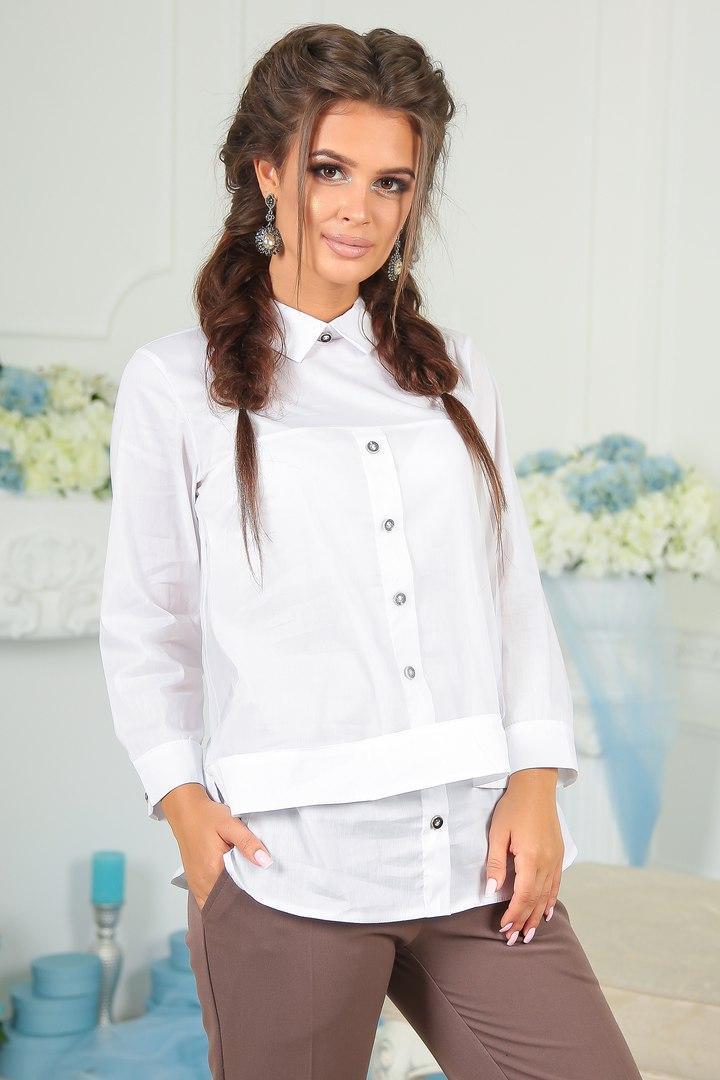 Модная женская блуза покрытая фатин-сеткой