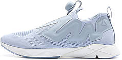 Женские кроссовки Vetements x Reebok Pump Supreme Engine Light Blue
