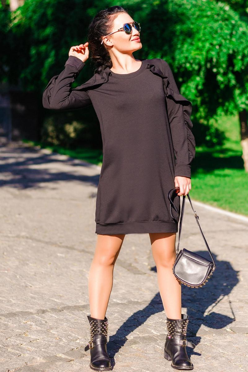 """Платье черного цвета """"Ангелина"""""""