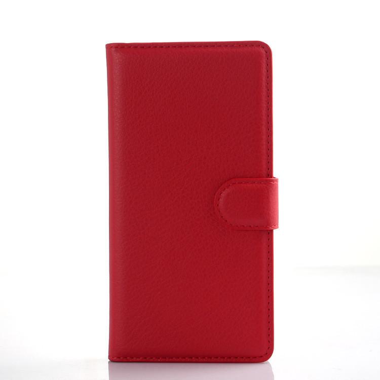 Чехол-книжка Bookmark для HUAWEI P8 lite red