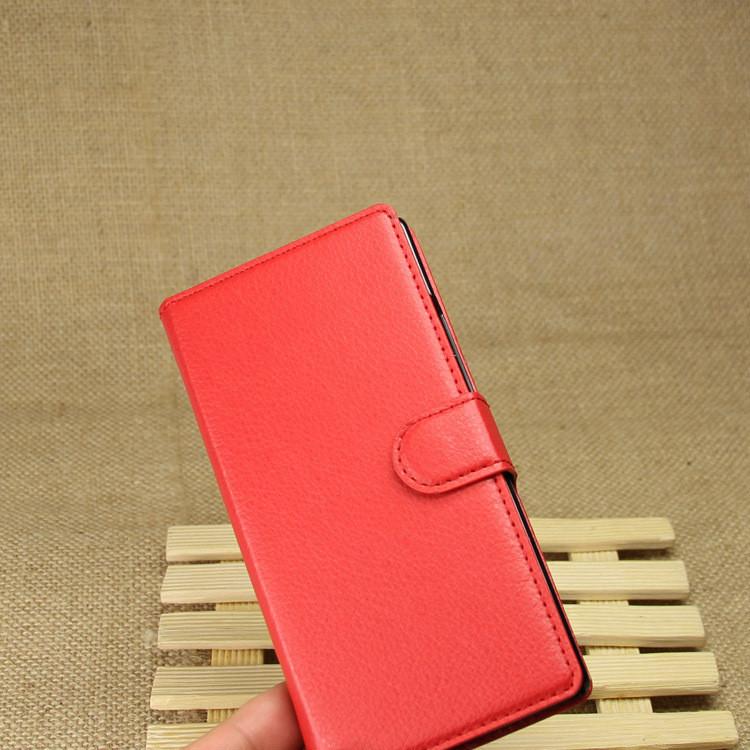 Чехол-книжка Bookmark для HUAWEI P7 red