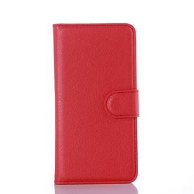 Чехол-книжка Bookmark для Samsung Galaxy A3 2016/A310 red