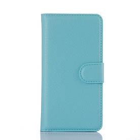 Чехол-книжка Bookmark для Samsung Galaxy A3 2016/A310 blue