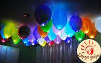 №4А Светящиеся гелиевые шары 30 см Днепр