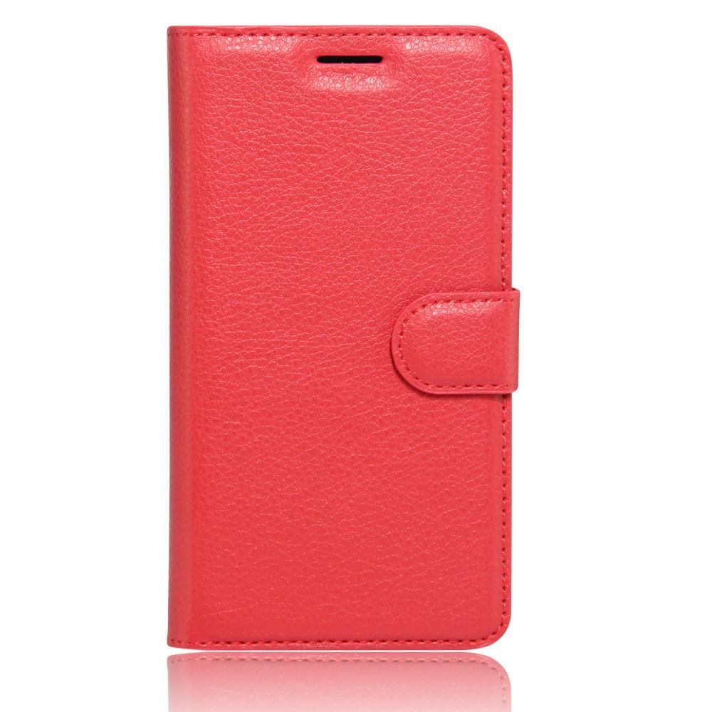 Чехол-книжка Bookmark для Samsung Galaxy A7 2017 red