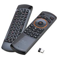 Аэромышь с микрофоном и клавиатурой Air Mouse Riitek Rii mini i25A