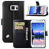 Чехол-книжка Bookmark для Samsung Galaxy S6 Active/G890 black, фото 5