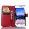 Чехол-книжка Bookmark для Samsung Galaxy S6 Active/G890 red, фото 4