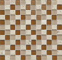 Мозаика  мрамор и стекло CS11