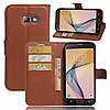 Чехол-книжка Bookmark для Samsung Galaxy A5 2017 brown, фото 5