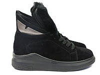 Замшевые женские спортивные ботинки, фото 1