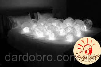 №5 Светящиеся шары с воздухом (шар в шаре) Днепр