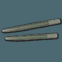 Anti-tangle sleeves, 54mm, (10 шт), dark green (Противозакручиватель - зеленый)