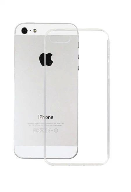 Чехол-накладка Smartcase TPU для iPhone 5/5S/5SE white