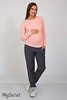 Модные брюки для беременных Keira, графит