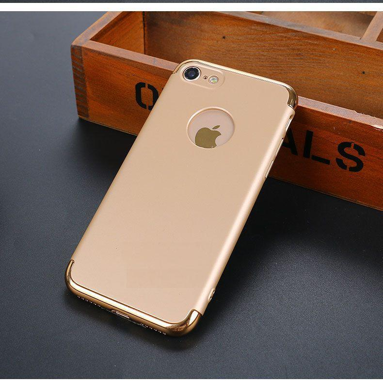 Накладка, задняя панель Elitecover для iPhone 7 gold