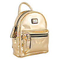 Женская сумка-рюкзак из экокожи 1 ВЕРЕСНЯ, Mirorr gold 3 л