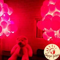 №12А Гелиевые светящиеся шары 30 см Днепр