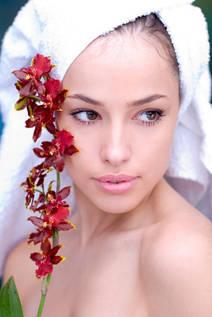 Очищение и увлажнение кожи лица