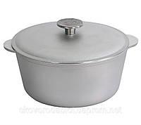 """Кастрюля алюминиевая 1,5 л с литыми ручками и крышкой """"Биол"""" К0150 (алюминиевая посуда)"""