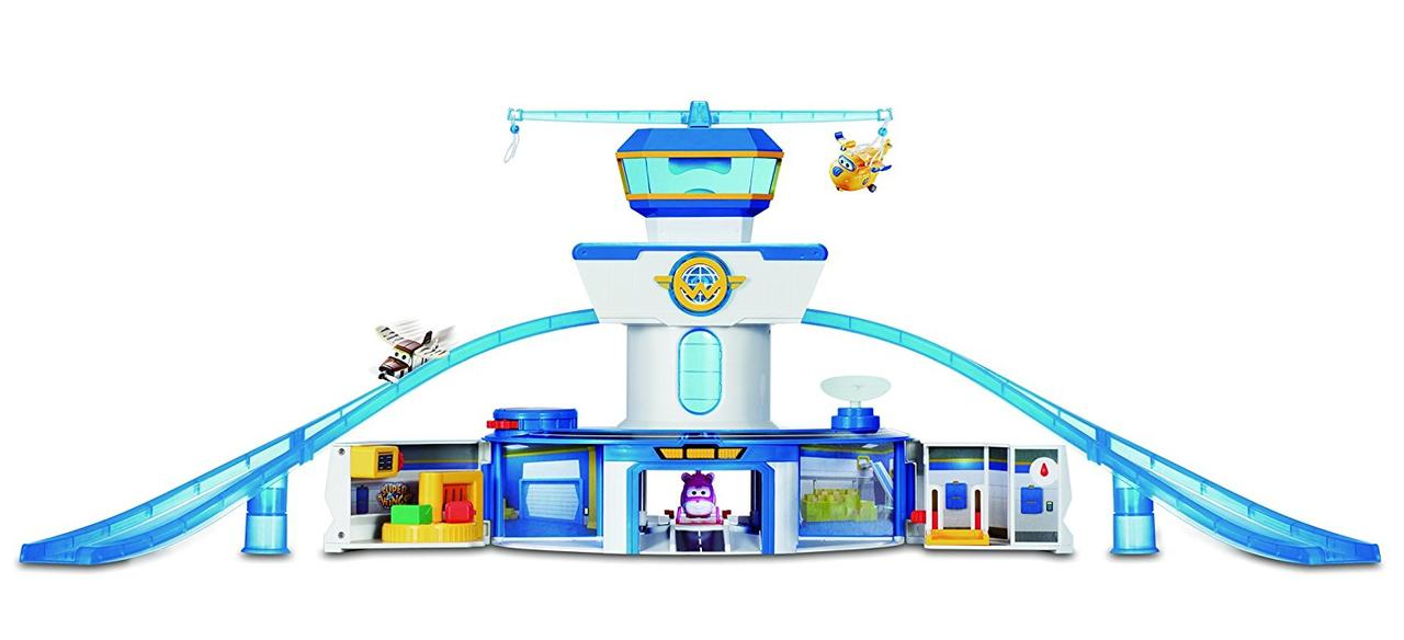 Супер крылья Super Wings Игровой набор Аэропорт Auldey World Airport Playset, фото 1