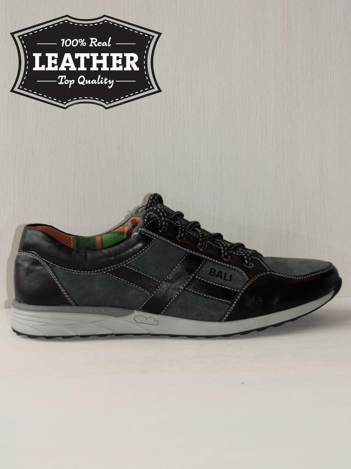 Спортивные кожаные мужские туфли M8