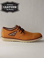 Кожаные мужские туфли M11