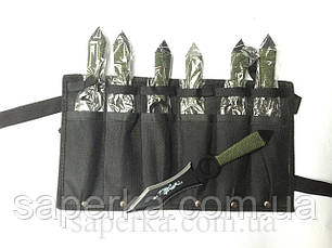 Набор метательных ножей YF005 6шт 58гр, фото 3