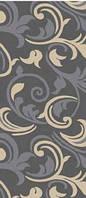 Ковровая дорожка Daffi восточные мотивы - серый