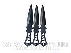 Набор метательных ножей YF009 3шт 57гр, фото 3