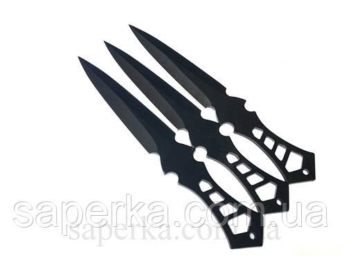 Набор метательных ножей YF009 3шт 57гр, фото 2