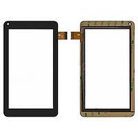 """Сенсорный экран (touchscreen) для Assistant AP-714 Fun, 7.0"""", 106-186 мм, 30 pin, емкостный, черный, оригинал"""