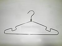 Плечики вешалка металлическая тонкая 40 см