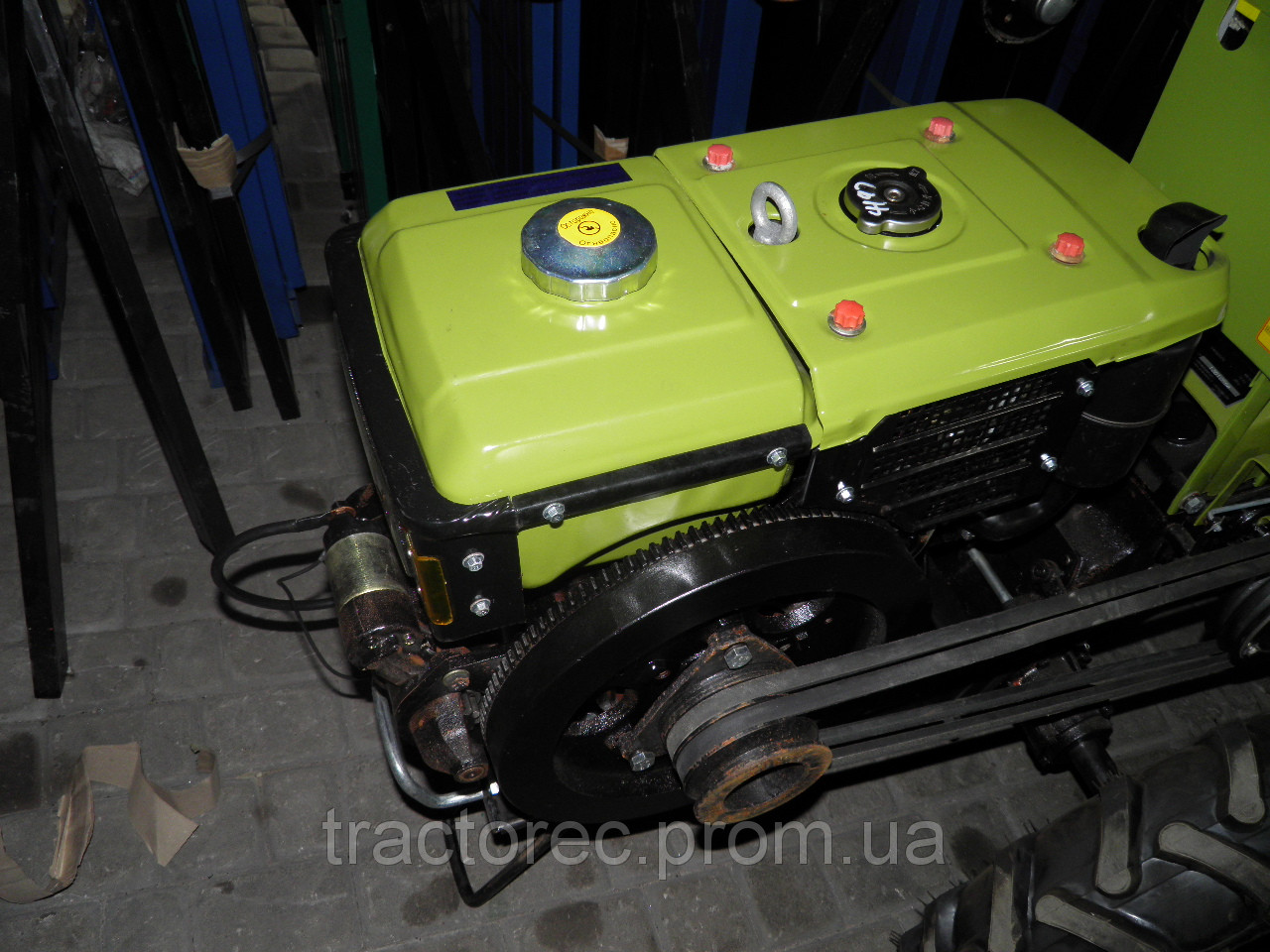Двигатель дизельный от мотоблока Зубр, Кентавр R190NM (10 к.с. з електрозапуском)