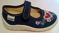 Обувь для девочек Текстиль 49654(25) Waldi Украина