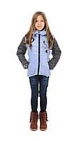 Детская куртка димесезонная  жилетка  на девочку.