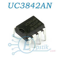 UC3842AN, ШИМ контроллер, DIP-8